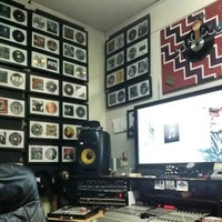 Photo taken at The dungeon studio by DJ Jdawg G. on 1/26/2016