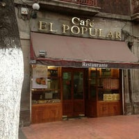 Photo taken at Café El Popular by Laura G. on 7/27/2013
