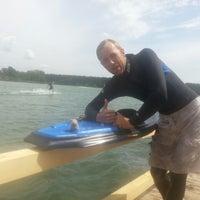 Photo taken at Ozolnieku Wakeboard by Rrolis R. on 7/6/2014