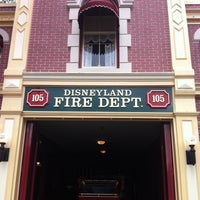 Photo taken at Disneyland Fire Department No. 1 by Chuck on 5/1/2013