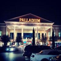Photo taken at Santikos Palladium IMAX by Miguel P. on 3/16/2013