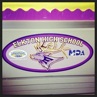 Photo taken at Elkton High School by CecilAdmissions on 9/24/2013