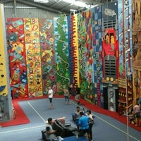 Photo taken at Extreme Edge Indoor Rock Climbing by Julia L. on 3/5/2016