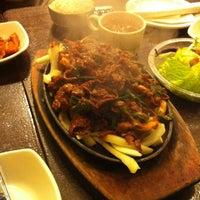 Photo taken at Hosoonyi Korean Restaurant by Steven T. on 1/20/2013