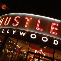 Photo taken at Hustler Hollywood by James I. on 3/31/2013