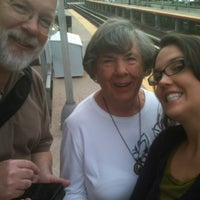 Photo taken at LIRR - Nassau Blvd Station by Zarah B. on 10/2/2012