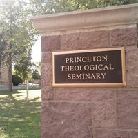 Photo taken at Princeton Theological Seminary by Kyle S. on 9/23/2012