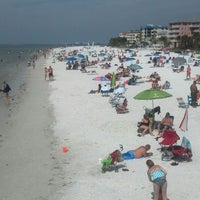 Photo taken at Fort Myers Beach by Ryan F. on 3/9/2013