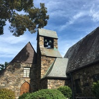 Photo taken at Union Church of Pocantico Hills by emily f. on 9/3/2016