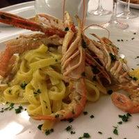 "Photo taken at Osteria ""Al portico"" by Andrea F. on 10/17/2015"