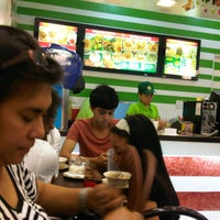 Photo taken at Ted's La Paz Batchoy by Jemmelyn J. on 12/30/2012