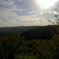 Photo taken at Sleeping Giant State Park by Christopher B. on 9/16/2012