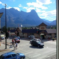 Photo taken at Canmore Hotel by Christopher B. on 8/16/2016