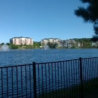 Photo taken at Lake outside of Publix by Maurice W. on 4/21/2014