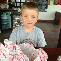 Photo taken at Jimmy John's by kimberley b. on 5/24/2013