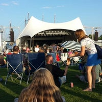 Photo taken at Town Point Park by Lori F. on 6/8/2013