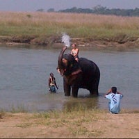 Photo taken at Chitwan Jungle Wildlife Camp by Philip L. on 10/7/2012