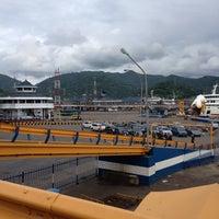 Photo taken at Pelabuhan Merak by Bella D. on 1/1/2013