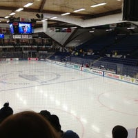 Photo taken at Alfond Arena by Stephanie N. on 12/1/2012