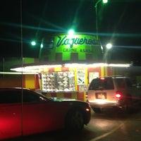 Photo taken at Vaqueros Carne Asada Taco Shop by Liz D. on 2/8/2013