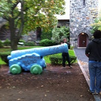 Photo taken at Tufts Cannon by Craig L. on 10/12/2012