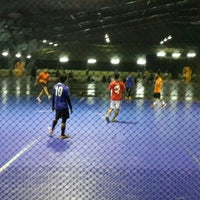 Photo taken at JPS Futsal Ampang by hafiz on 12/19/2015