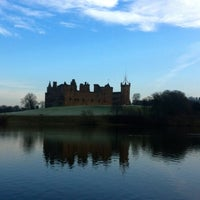 Photo taken at Linlithgow Palace by Jamie T. on 2/15/2013