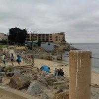 Photo taken at Breakwater Beach by Brandy B. on 8/3/2014