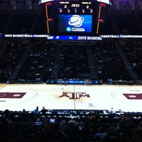 Photo taken at Reed Arena by Jerry on 3/23/2013