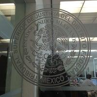 Photo taken at Tribunal Superior de Justicia del Distrito Federal - Juzgados de lo Familiar by Mercedes B. on 9/12/2013