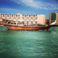 Photo taken at Dubai Creek by Prash S. on 1/12/2013