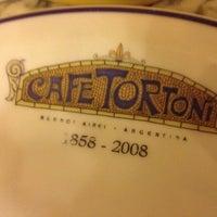 Photo taken at Gran Café Tortoni by Kati V. on 6/15/2013