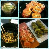 Photo taken at sushi-ya by Alfan Y. on 10/27/2012