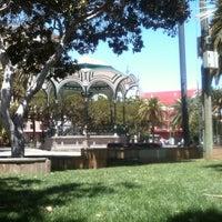 Photo taken at Parque San Telmo by Jannes M. on 5/1/2013
