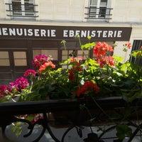 Photo taken at Hôtel de la Félicite by Ruslana C. on 8/1/2015