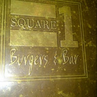 Photo taken at Square 1 Burgers & Bar by Michael W. on 3/16/2013