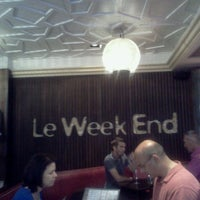 Photo taken at Week End Café by Syrine C. on 8/17/2013