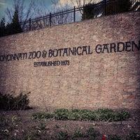 Photo taken at Cincinnati Zoo & Botanical Garden by Michael J. on 4/13/2013