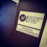 Photo taken at Kementerian Pelajaran Malaysia Cyberjaya by Amjad D. on 9/28/2015