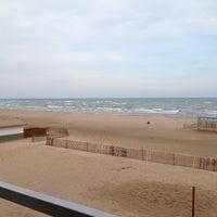 Photo taken at Bradford Beach by Steph M. on 4/14/2013