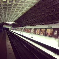 Photo taken at Metro Center Metro Station by Andrew S. on 3/9/2013