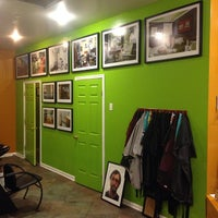 Photo taken at Hairitics: Dye for Your Beliefs by Tanner Y. on 2/7/2014