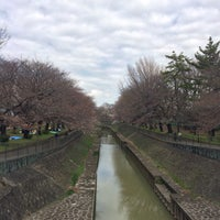 Photo taken at 尾崎橋 by ヒカル on 3/26/2016