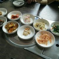 Photo taken at Nak Won Korean BBQ by Renise on 8/11/2016