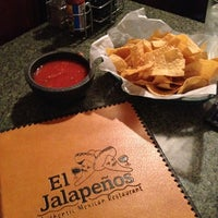 Photo taken at El Jalapeños Authentic Mexican Restaurant by Joel F. on 11/20/2012