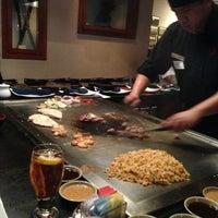 Photo taken at Musashi's Japanese Steakhouse by Cynthia N. on 3/17/2013