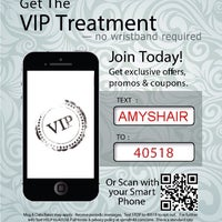 Photo taken at Amy's Hair Hydeaway by Amy J. on 11/8/2013