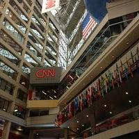 Photo taken at CNN Center by Anita S. on 5/4/2013