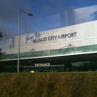 Photo taken at George Best Belfast City Airport (BHD) by Kevin C. on 9/19/2013