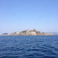 Photo taken at Hashima / Gunkanjima Island by Takahito Y. on 5/5/2013